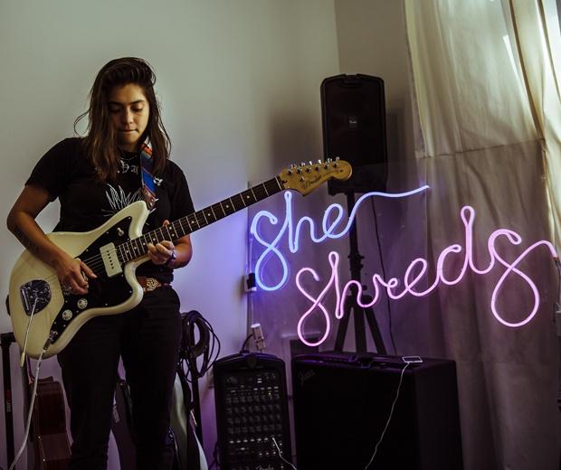 She Shreds founder Fabi Reyna